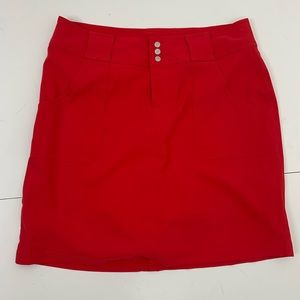 Jofit red golf skirt shorts skirt mini sport 6